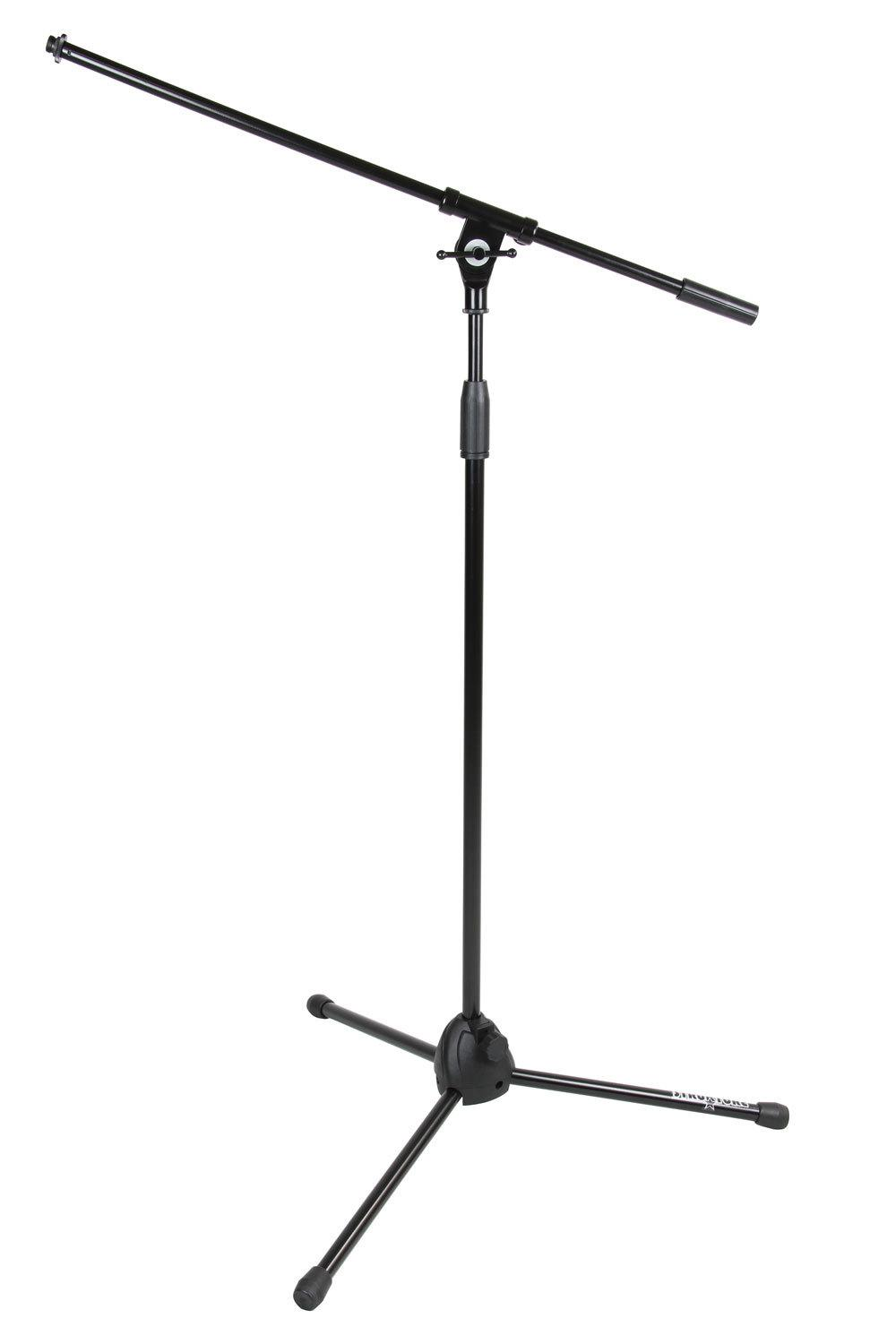 how to use a boom mic stand